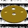 301315 R-1005 BRASS CHOKE SHUTTER